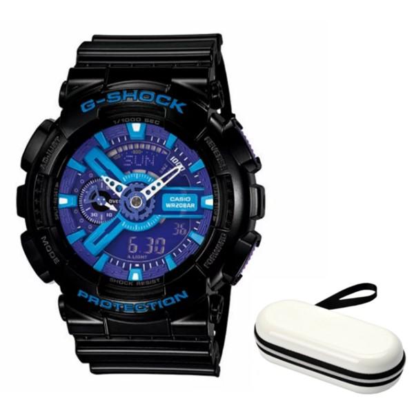 (時計ケースセット)(国内正規品)(カシオ)CASIO 腕時計 GA-110HC-1AJF (ジーショック)G-SHOCK メンズ(樹脂バンド クオーツ アナデジ)(快適家電デジタルライフ)