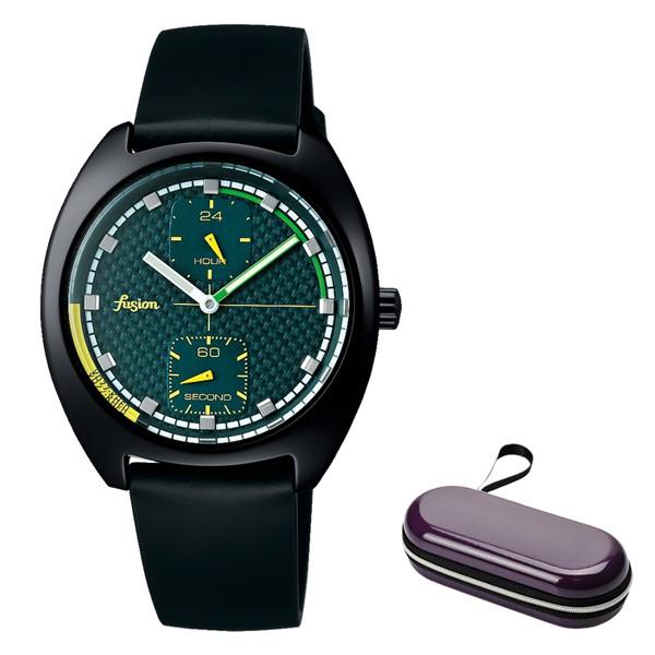 (時計ケースセット)(国内正規品)(セイコー)SEIKO 腕時計 AFSK403 (アルバ フュージョン)ALBA fusion メンズ レディース 90's ファッションミックス(牛革バンド クオーツ 多針アナログ)(快適家電デジタルライフ)