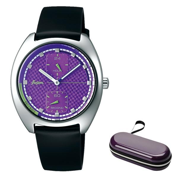 (時計ケースセット)(国内正規品)(セイコー)SEIKO 腕時計 AFSK404 (アルバ フュージョン)ALBA fusion メンズ レディース 90's ファッションミックス(牛革バンド クオーツ 多針アナログ)(快適家電デジタルライフ)
