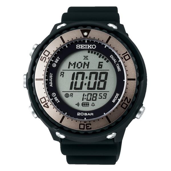 (国内正規品)(セイコー)SEIKO 腕時計 SBEP023 (プロスペックス)PROSPEX メンズ フィールドマスター LOWERCASE プロデュースモデル(シリコンバンド ソーラー デジタル)(快適家電デジタルライフ)