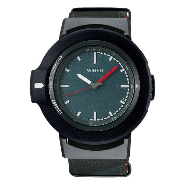 (国内正規品)(セイコー)SEIKO 腕時計 AGAB405 (ワイアード)WIRED WW ツーダブ メンズ Bluetooth搭載(ナイロンバンド クオーツ アナログ)(快適家電デジタルライフ)