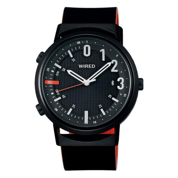 (国内正規品)(セイコー)SEIKO 腕時計 AGAB409 (ワイアード)WIRED WW ツーダブ メンズ Bluetooth搭載(牛革バンド クオーツ アナログ)(快適家電デジタルライフ)