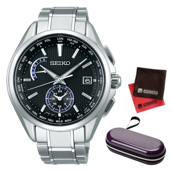 (時計ケース・クロスセット)(国内正規品)(セイコー) 腕時計 SEIKO SAGA289 (ブライツ)BRIGHTZ メンズ(チタンバンド 電波ソーラー 多針アナログ)(快適家電デジタルライフ)