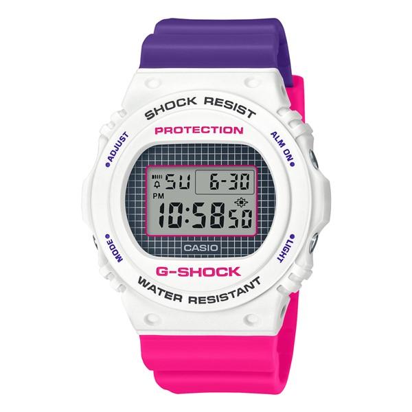 (国内正規品)(カシオ)CASIO 腕時計 DW-5700THB-7JF (ジーショック)G-SHOCK メンズ Throwback 1990s(樹脂バンド クオーツ デジタル)(快適家電デジタルライフ)