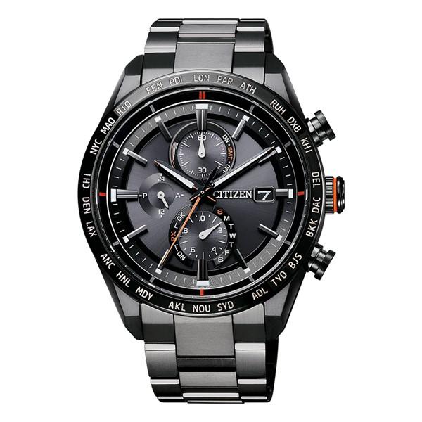 「MY CITIZEN」 延長サービス2年保証(シチズン)CITIZEN 腕時計 AT8185-62E (アテッサ)ATTESA メンズ ACT Line ダイレクトフライト チタンバンド 電波ソーラー 多針アナログ(国内正規品)(快適家電デジタルライフ)