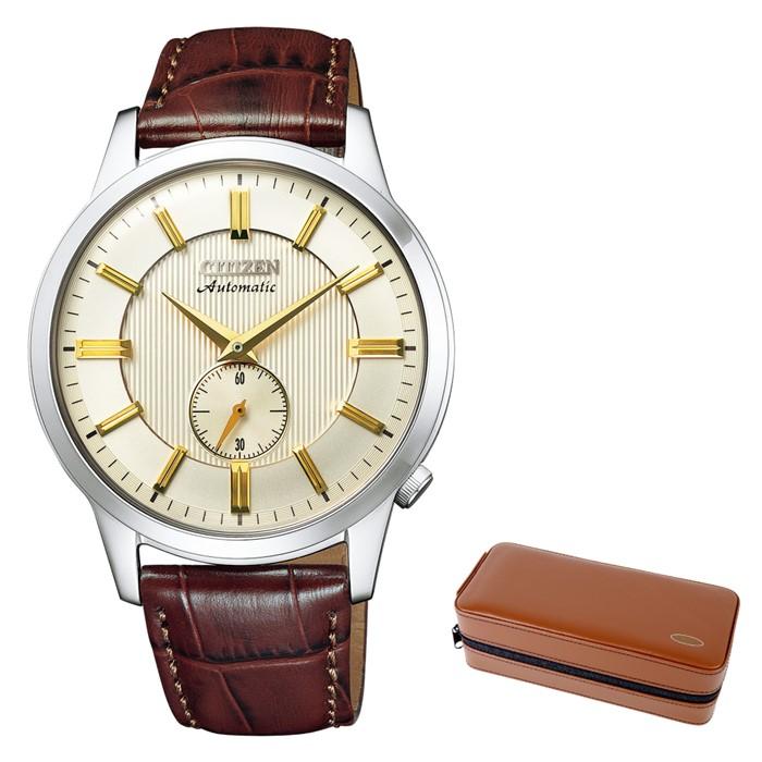(時計ケースセット)(シチズン)CITIZEN 腕時計 NK5000-12P シチズンコレクション メンズ メカニカル クラシカルライン 牛革バンド 自動巻き(手巻付) アナログ(国内正規品)(快適家電デジタルライフ)