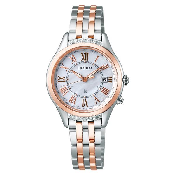(セイコー)SEIKO 腕時計 SSVV054 LUKIA(ルキア) レディース レディダイヤ ステンレスバンド 電波ソーラー アナログ(国内正規品)(快適家電デジタルライフ)