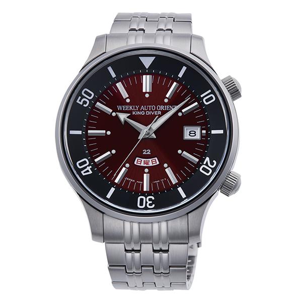 (オリエント)ORIENT 腕時計 RN-AA0D12R (リバイバル)REVIVAL メンズ キングダイバー 70周年記念 限定復刻モデル ステンレスバンド 自動巻き(手巻付)(国内正規品)(快適家電デジタルライフ)
