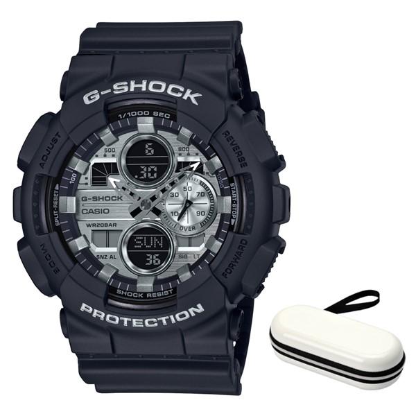 (時計ケースセット)(カシオ)CASIO 腕時計 GA-140GM-1A1JF (ジーショック)G-SHOCK メンズ Garish Color Series 樹脂バンド クオーツ アナデジ(国内正規品)(快適家電デジタルライフ)