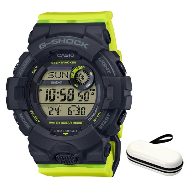 (時計ケースセット)(カシオ)CASIO 腕時計 GMD-B800SC-1BJF (ジーショック)G-SHOCK メンズ レディース ミッドサイズ Bluetooth搭載 樹脂バンド クオーツ デジタル(国内正規品)(快適家電デジタルライフ)