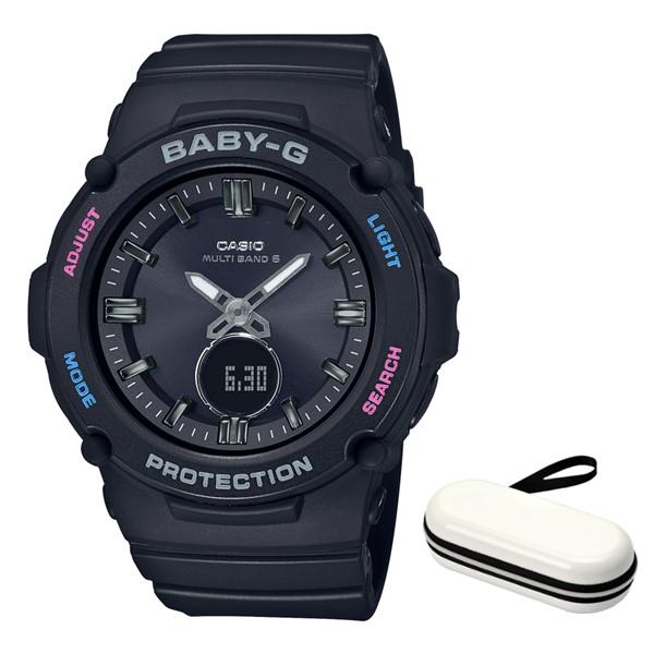 (時計ケースセット)(カシオ)CASIO 腕時計 BGA-2700-1AJF (ベビーG)BABY-G レディース 樹脂バンド 電波ソーラー アナデジ(国内正規品)(快適家電デジタルライフ)