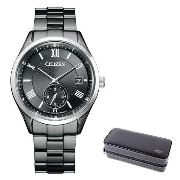 (時計ケースセット)(シチズン)CITIZEN 腕時計 BV1125-97H シチズンコレクション メンズ エコドライブ スモールセコンド ステンレスバンド ソーラー アナログ(国内正規品)(快適家電デジタルライフ)