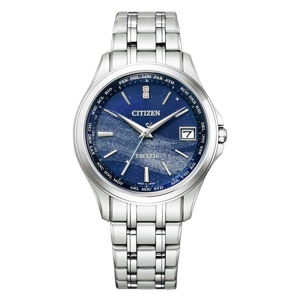 (シチズン)CITIZEN 腕時計 CB1080-52M (エクシード)EXCEED ペア メンズ 七夕モチーフ「天の川」 限定モデル エコドライブ ダイレクトフライト チタンバンド 電波ソーラー アナログ(国内正規品)(快適家電デジタルライフ)