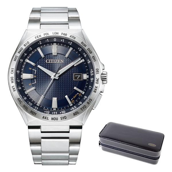 (時計ケースセット)(シチズン)CITIZEN 腕時計 CB0210-54L (アテッサ)ATTESA メンズ ACT Line エコドライブ ダイレクトフライト チタンバンド 電波ソーラー アナログ(国内正規品)(快適家電デジタルライフ)