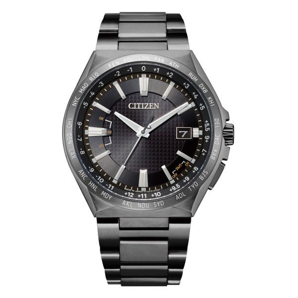 (シチズン)CITIZEN 腕時計 CB0215-51E アテッサ ATTESA メンズ エコドライブ電波 ダイレクトフライト ACT Line 電波ソーラー チタン アナログ(国内正規品)(快適家電デジタルライフ)
