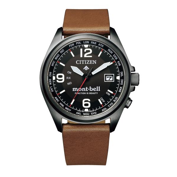 シチズン CITIZEN 腕時計 CB0177-31E プロマスター PROMASTER メンズ モンベル・コラボ第四弾 電波ソーラー 牛革バンド アナログ (国内正規品)(9月新商品)(快適家電デジタルライフ)