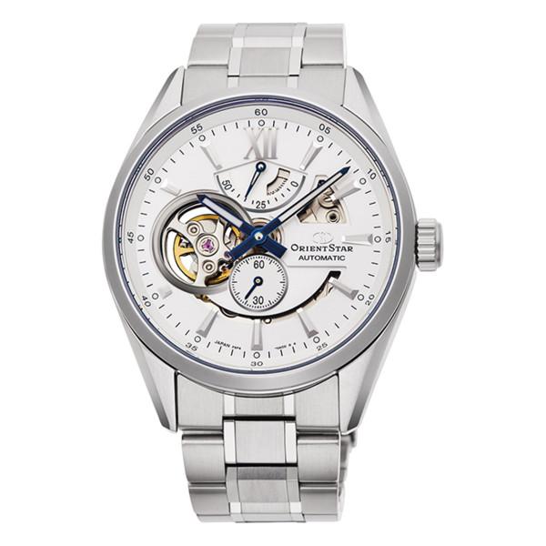 オリエントスター ORIENTSTAR 腕時計 RK-AV0113S コンテンポラリー CONTEMPORARY モダンスケルトン メンズ 自動巻き(手巻付) ステンレスバンド アナログ(国内正規品)(快適家電デジタルライフ)