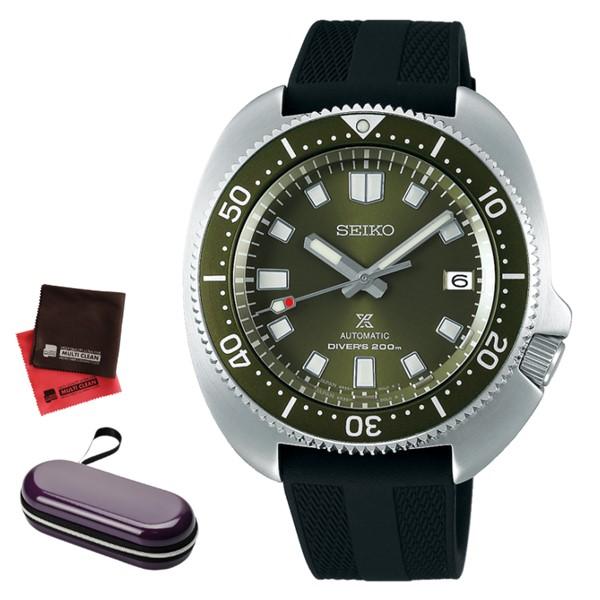 (時計ケース・クロスセット)セイコー SEIKO 腕時計 SBDC111 プロスペックス PROSPEX 2ndダイバーズ 現代デザイン メンズ コアショップ専用 自動巻き(手巻付) シリコンバンド アナログ(国内正規品)(快適家電デジタルライフ)
