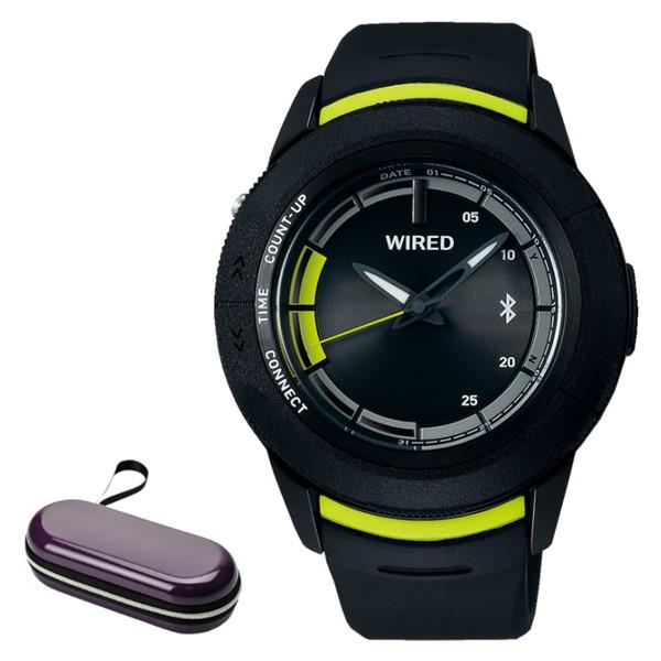 (時計ケースセット)セイコー SEIKO 腕時計 AGAB415 ワイアード WIRED WW ツーダブ メンズ Bluetooth搭載 クオーツ 樹脂バンド アナログ(国内正規品)(快適家電デジタルライフ)