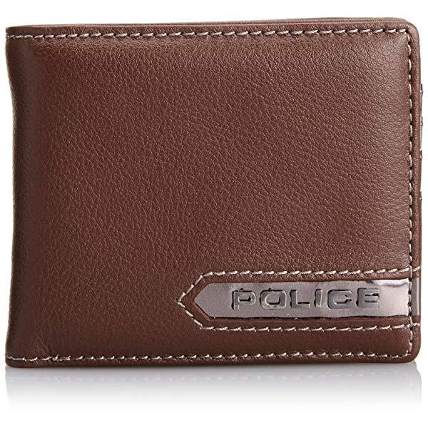 POLICE(ポリス) METALLIC 二つ折り財布 PA-56900-29(ブラウン)【正規輸入品】 '【メンズ小物】【快適家電デジタルライフ】