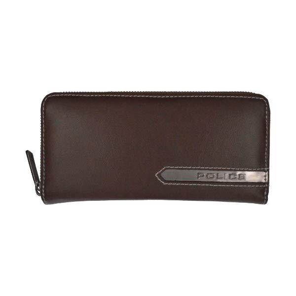 POLICE(ポリス) METALLIC 二つ折り財布 PA-56902-29(ブラウン)【正規輸入品】 '【メンズ小物】【快適家電デジタルライフ】