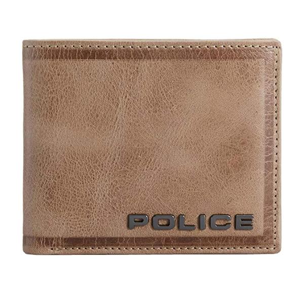 POLICE(ポリス) EDGE 二つ折り財布 PA-58000-25(キャメル)【正規輸入品】【メンズ小物】【快適家電デジタルライフ】