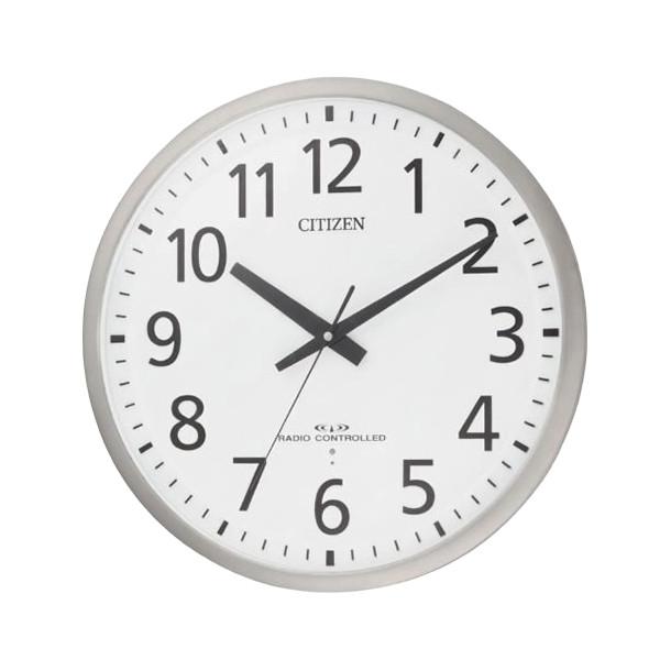 リズム時計 CITIZEN(シチズン)オフィスタイプ電波掛時計 スペイシーM463 8MY463-019【快適家電デジタルライフ】