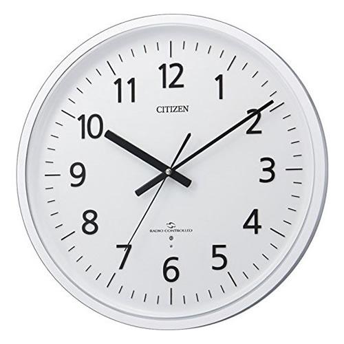 リズム時計 CITIZEN(シチズン)クオーツ掛時計スリーウェイブM827 4MY827-003【快適家電デジタルライフ】