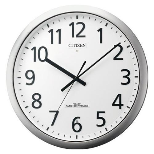 リズム時計 CITIZEN(シチズン)電波掛時計パルフィス484 8MY484-019【快適家電デジタルライフ】
