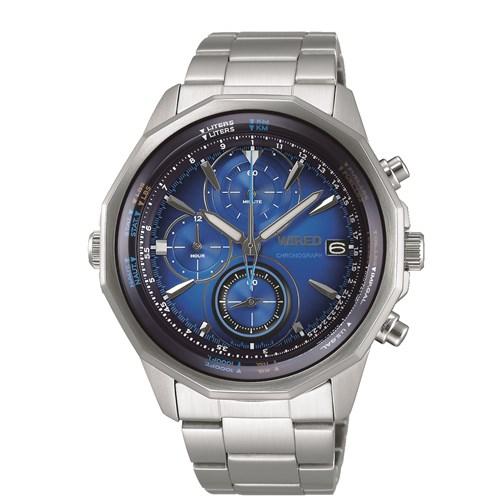 【国内正規品】【腕時計】 AGAW439 WIRED[ワイアード] 【THE BLUE ザ・ブルー】【クロノグラフ】【メンズ】【代引き手数料・送料無料】【快適家電デジタルライフ】