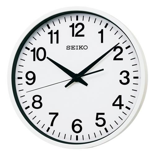 セイコークロック (SEIKO) 【衛星電波掛時計】 「セイコースペースリンク」 GP201W (ホワイト)【代引き手数料・送料無料】【快適家電デジタルライフ】