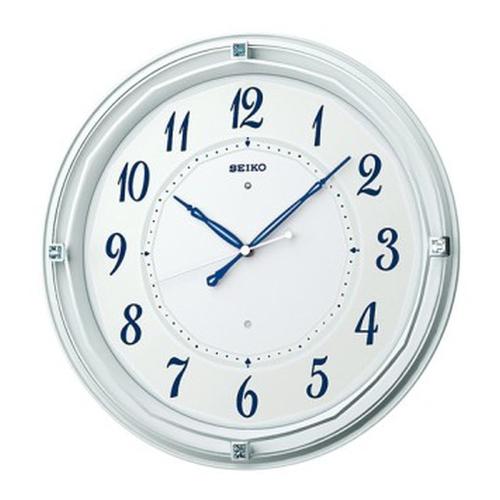 セイコークロック (SEIKO) 【電波掛時計】 X371W(ホワイト)【代引き手数料・送料無料】【快適家電デジタルライフ】
