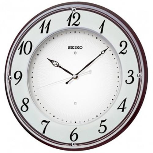 セイコークロック (SEIKO) 【電波掛時計】 X372B(木枠)【代引き手数料・送料無料】【快適家電デジタルライフ】