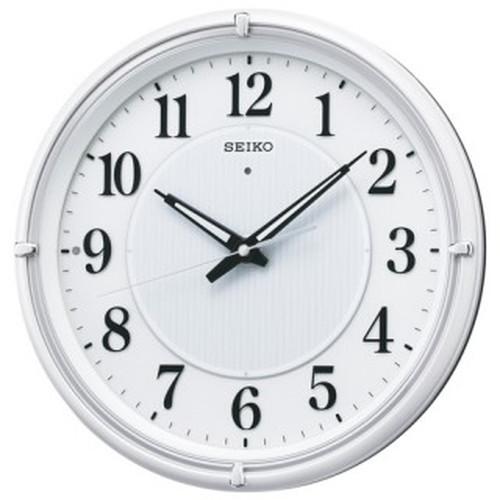 セイコークロック (SEIKO) 【電波掛時計】 ファインライトNEO KX393W【代引き手数料・送料無料】【快適家電デジタルライフ】