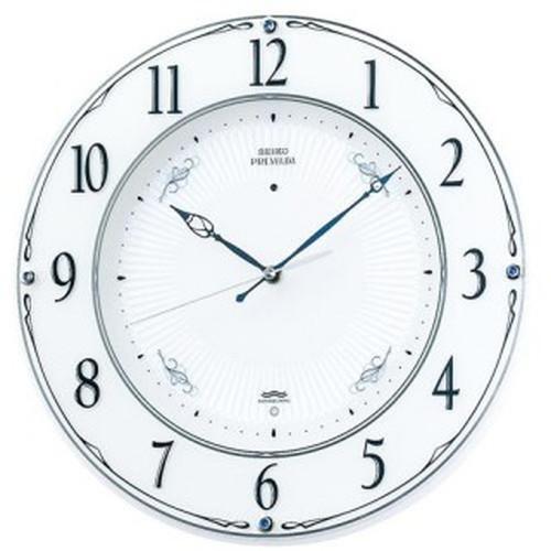 セイコークロック (SEIKO) 【電波掛時計】 LS230W【代引き手数料・送料無料】【快適家電デジタルライフ】