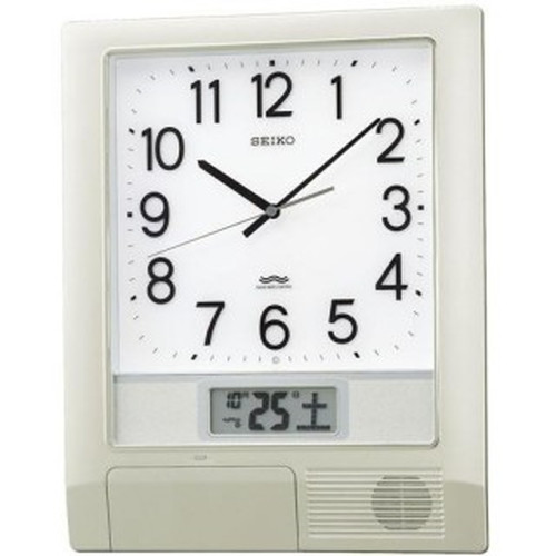 セイコークロック (SEIKO) 【32チャンネルプログラム掛時計】 PT201S【代引き手数料・送料無料】【快適家電デジタルライフ】