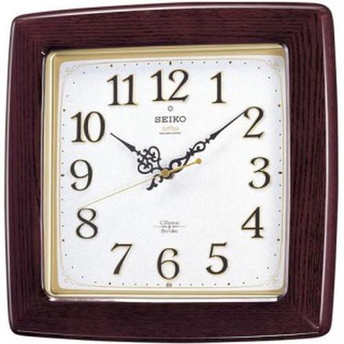 セイコークロック (SEIKO) 【電波掛時計】 RX211B【代引き手数料・送料無料】【快適家電デジタルライフ】