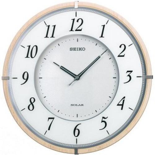セイコークロック (SEIKO) 【電波掛時計】 SF501B 薄型【代引き手数料・送料無料】【快適家電デジタルライフ】