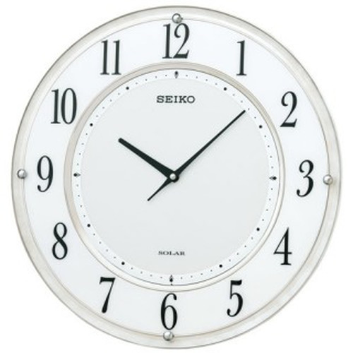 セイコークロック (SEIKO) 【電波掛時計】 SF506W【代引き手数料・送料無料】【快適家電デジタルライフ】
