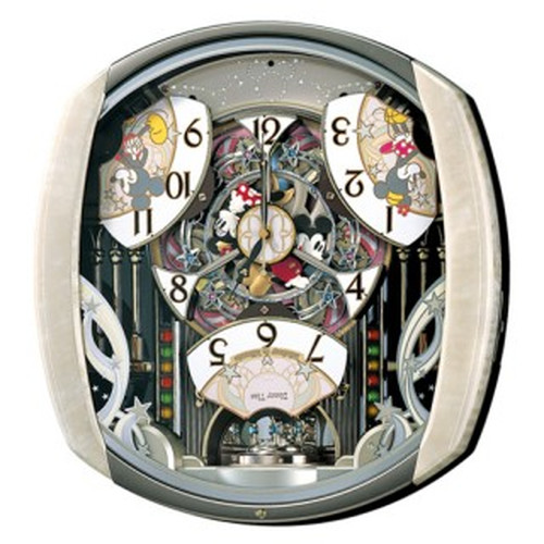 セイコークロック (SEIKO) 【電波からくり掛時計】 FW563A ディズニー ミッキーマウス【代引き手数料・送料無料】【快適家電デジタルライフ】