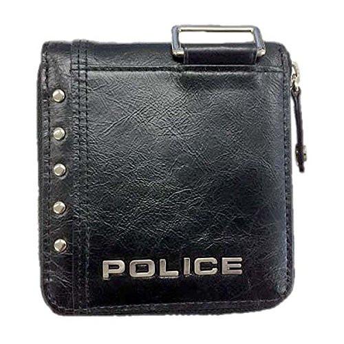 POLICE(ポリス)【正規輸入品】Avoid ? 二つ折り財布 ブラック PA-58601-10【代引き手数料・送料無料】【快適家電デジタルライフ】