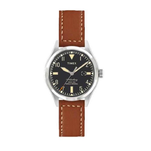 【正規輸入品】 TIMEX(タイメックス) 【時計】 TW2P84000 Waterbury Red Wing Shoe Leather[ウォーターベリー レッドウィング] 【40mmケース メンズ】【ペアウォッチ】【快適家電デジタルライフ】
