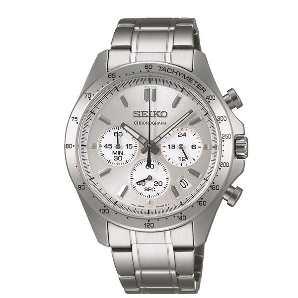 【国内正規品】SEIKO(セイコー)【腕時計】 SBTR009 SPIRIT[スピリット]【クロノグラフ】【クオーツ 多針アナログ ステンレスバンド メンズ】【快適家電デジタルライフ】