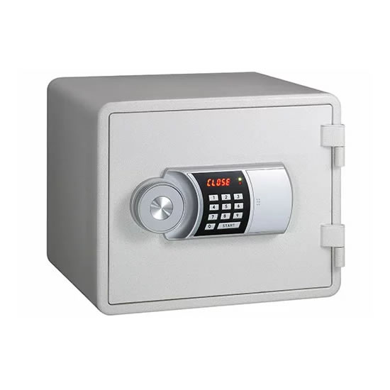 【代引不可】【メーカー直送】エーコー 【テンキー式 小型耐火金庫】 YES Color Safe YESM-015WH【ラッピング不可】【快適家電デジタルライフ】