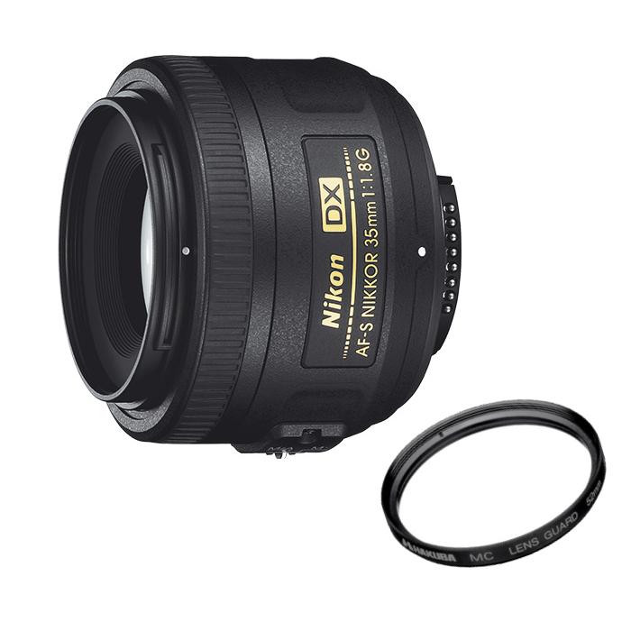 【★プロテクトフィルターセット】ニコン(Nikon) 標準単焦点レンズAF-S DX NIKKOR 35mm F1.8G【送料無料/代引手数料無料】【快適家電デジタルライフ】
