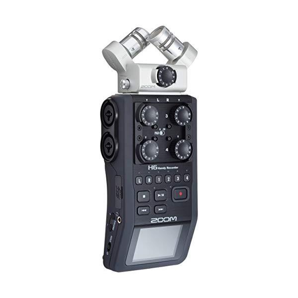【送料無料】ZOOM プロフェッショナル・ハンディレコーダー H6【快適家電デジタルライフ】