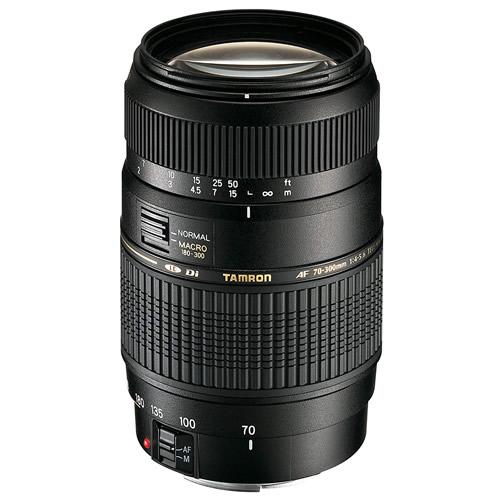 タムロン 望遠ズームレンズ AF70-300mm F/4-5.6 Di LD Macro 1:2 Model:A17NII ニコン用(モーター内蔵) 【快適家電デジタルライフ】