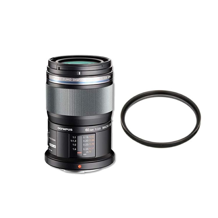【レンズ保護フィルター付】オリンパス M.ZUIKO DIGITAL ED 60mm F2.8 Macro 【マイクロフォーサーズ用】【快適家電デジタルライフ】