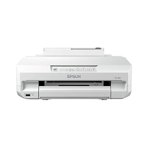 EPSON A4対応インクジェットプリンター Colorio(カラリオ) EP-306【快適家電デジタルライフ】