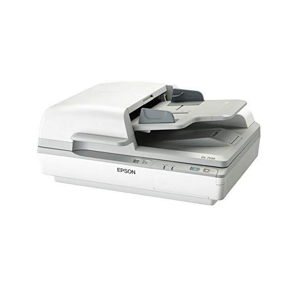 エプソン スキャナー DS-7500 A4スキャナ[1200dpi・USB2.0] Offirio 高耐久フラットベッドスキャナ【快適家電デジタルライフ】
